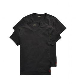 Pack de 2 Camisetas Classic Crew Undershit negro
