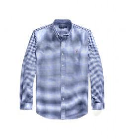 Camisa Camisa Oxford Custom Fit azul
