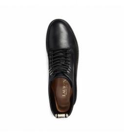 Botas de piel Ensley negro