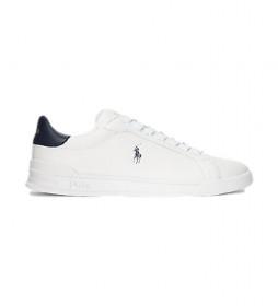 Zapatillas de piel Heritage Court II blanco