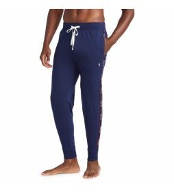Pantalones Joggers Sleep Bottom marino