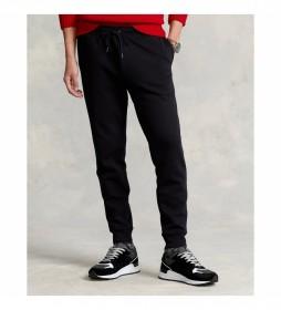 Pantalón Jogger Double-Knit negro
