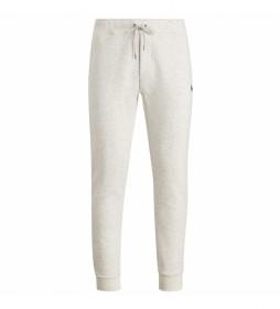 Pantalón Jogger Double-Knit gris claro