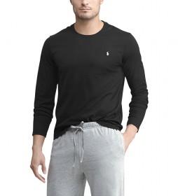 Camiseta Crew Sleep Top negro