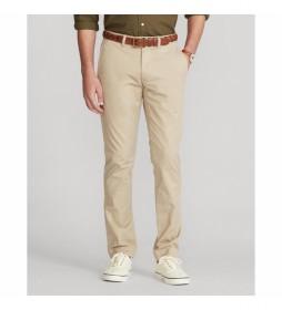 Pantalones Flat beige