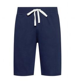 Shorts Slim Sleep Bottom marino