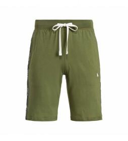 Shorts Slim Sleep Bottom verde