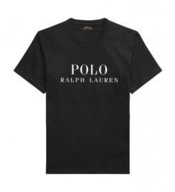 Camiseta Cuello Redondo Sleep negro