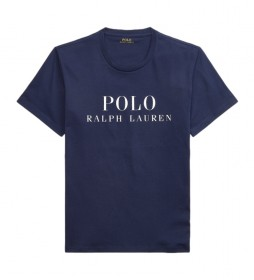 Camiseta Cuello Redondo Sleep marino