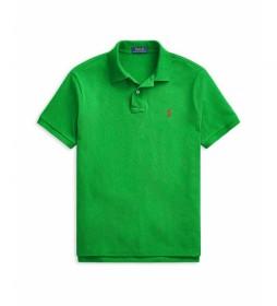 Polo Slim Fit SSKCCMSLM1 verde