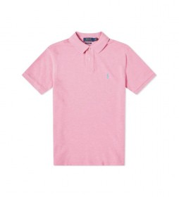 Polo Slim Fit SSKCCMSLM1 rosa