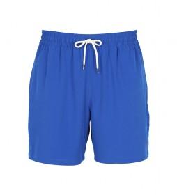 Bañador Casual con Cordón azul