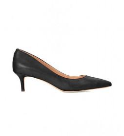 Zapatos de salón de piel Adrienne negro - Altura tacón 5cm -