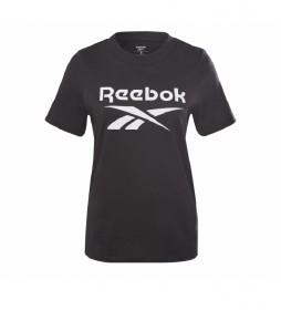 Camiseta Reebok Identity logo negro