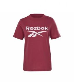 Camiseta Reebok Identity Logo rojo