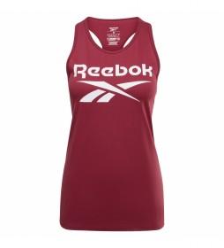 Camiseta Reebok Identity rojo