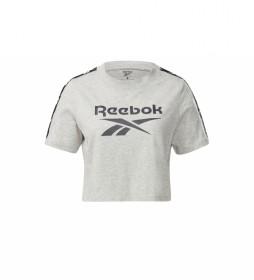 Camiseta Training Essentials Tape Pack gris