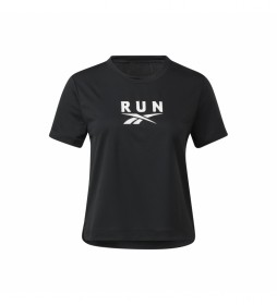 Camiseta Workout Ready Run Speedwick negro