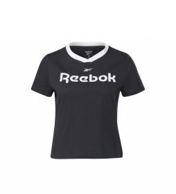 Camiseta Linear Logo T-Shirt negro