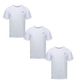 Pack de 3 Camisetas Santo blanco