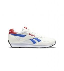 Zapatillas Rewind Run blanco, azul, rojo