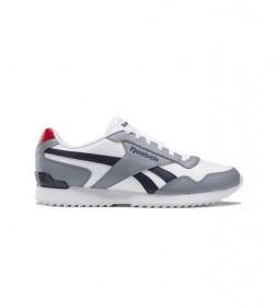 Zapatillas Royal Glide Ripple Clip gris, blanco, azul