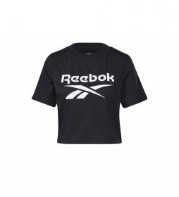 Camiseta Identity Cropped negro