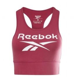 Sujetador Deportivo Reebok Identity rojo