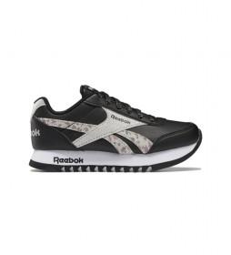 Zapatillas Royal Classic Jogger 2 Platform negro, animal print