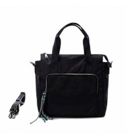 Bolso 083396 negro -27x29x14cm-