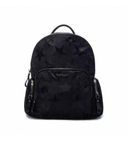 Mochila 083400 negro -31x28x7cm-