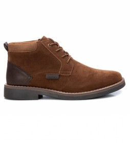 Botines 077779 marrón