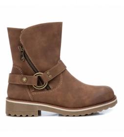 Botines 076012 marrón