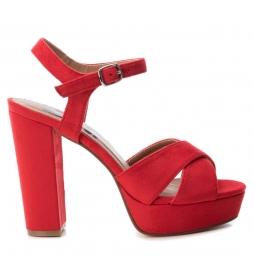 Sandalias 069837 rojo  -Altura tacón: 12cm-