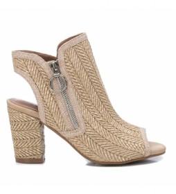 Zapatos 072654 beige -Altura del tacón: 9cm-