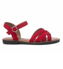 Sandalias 072750 rojo