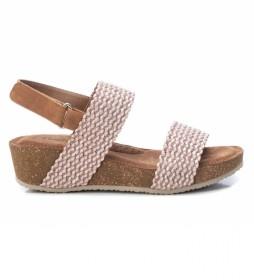 Sandalias 072755  marrón