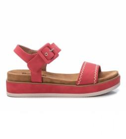 Sandalias  072802 rojo