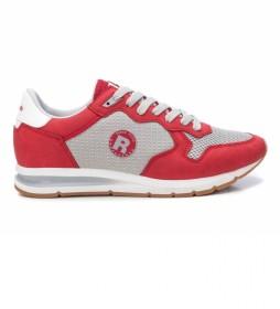 Zapatillas 072914 rojo