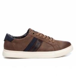 Zapatillas 076525 marrón