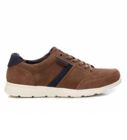 Zapatillas 076532 marrón