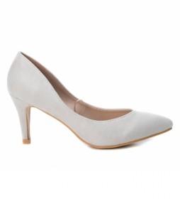 Zapatos 069844 blanco -altura tacón: 8cm-