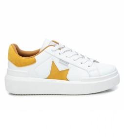 Zapatillas 072501 blanco, amarillo