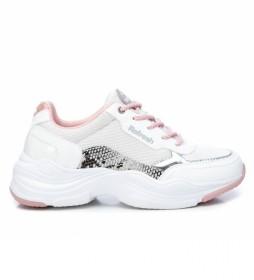 Zapatillas 072561 blanco -Altura plataforma: 5 cm-