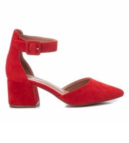 Zapatos 072865 rojo -Altura del tacón: 6cm-
