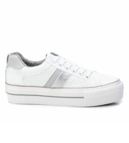 Zapatillas 072918 blanco, gris