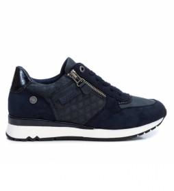 Zapatillas 077718 azul