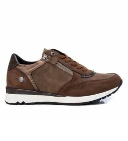 Zapatillas 078982 marrón
