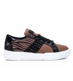 Zapatillas 078995 marrón
