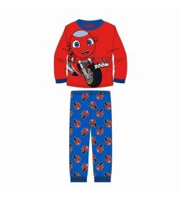 Pijama Ricky Zoom rojo
